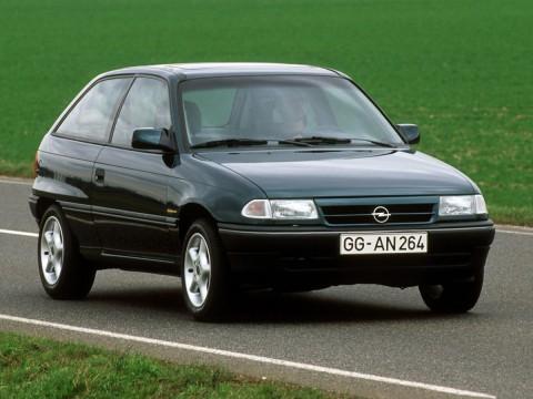 Specificații tehnice pentru Opel Astra F CC