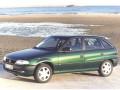 Caratteristiche tecniche di Opel Astra F