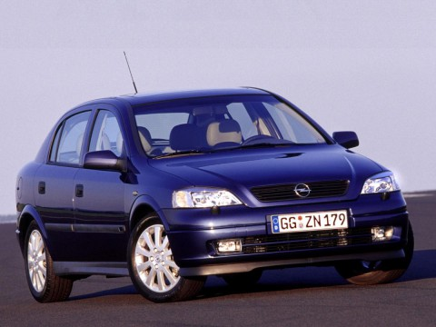Technical specifications and characteristics for【Opel Astra G】