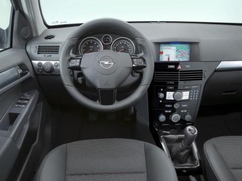 Caractéristiques techniques de Opel Astra H