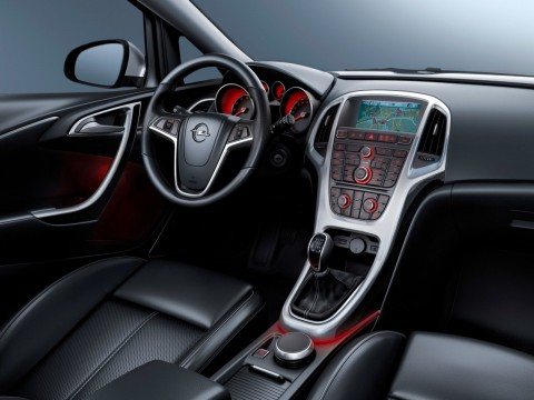 Technical specifications and characteristics for【Opel Astra J Restyling】