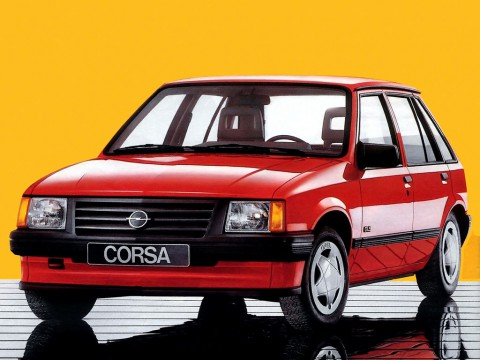 Technical specifications and characteristics for【Opel Corsa A】