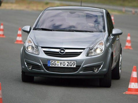 Technical specifications and characteristics for【Opel Corsa D 3-door】