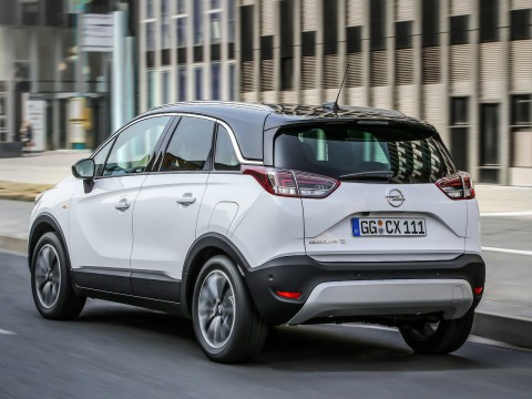 Technical specifications and characteristics for【Opel Crossland X】