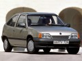 Opel Kadett Kadett E CC 1.3 S (75 Hp) full technical specifications and fuel consumption