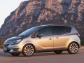 Opel Meriva Meriva B 1.3 DTE (95 Hp) full technical specifications and fuel consumption