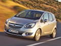 Specifiche tecniche dell'automobile e risparmio di carburante di Opel Meriva