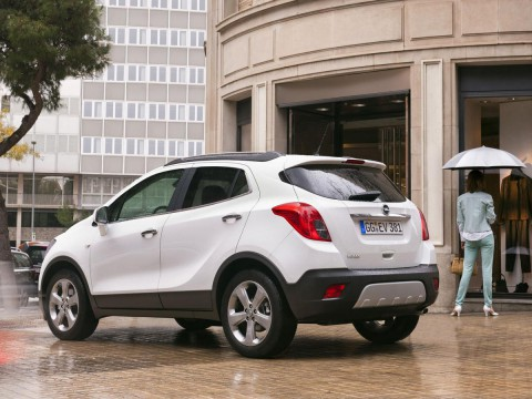 Technical specifications and characteristics for【Opel Mokka】