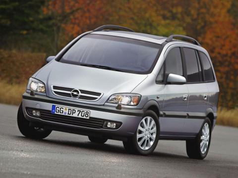 Specificații tehnice pentru Opel Zafira A (T3000)