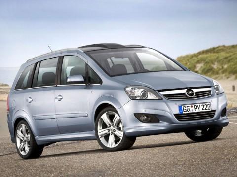 Caractéristiques techniques de Opel Zafira B