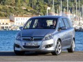 Opel Zafira Zafira B 1.6 i 16V (105 Hp) full technical specifications and fuel consumption