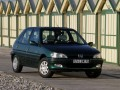 Technical specifications of the car and fuel economy of Peugeot 106