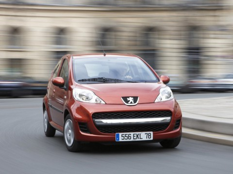 Technical specifications and characteristics for【Peugeot 107】