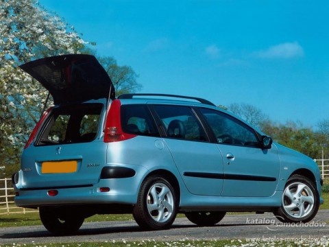 Technical specifications and characteristics for【Peugeot 206 SW】