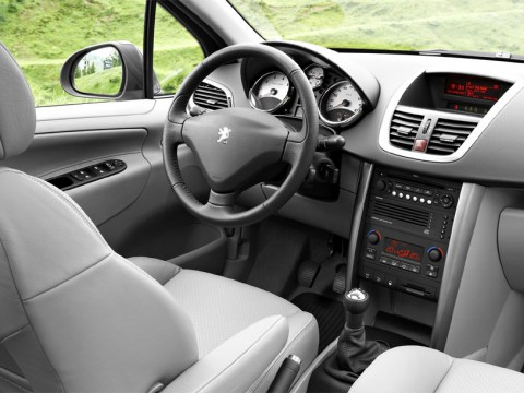 Technical specifications and characteristics for【Peugeot 207】