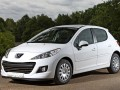 Technical specifications of the car and fuel economy of Peugeot 207