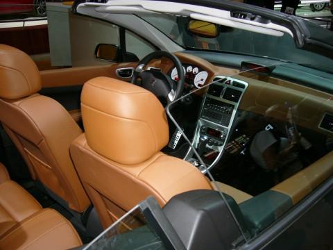 Caractéristiques techniques de Peugeot 307 CC