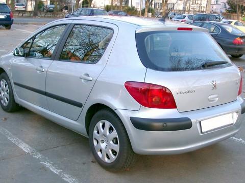 Caractéristiques techniques de Peugeot 307