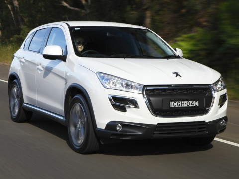 Technical specifications and characteristics for【Peugeot 4008】