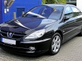 Technical specifications of the car and fuel economy of Peugeot 607
