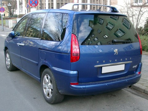 Technical specifications and characteristics for【Peugeot 807】