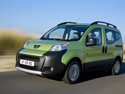 Technical specifications and characteristics for【Peugeot Bipper Tepee】