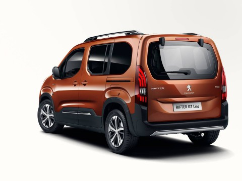 Technical specifications and characteristics for【Peugeot Rifter】