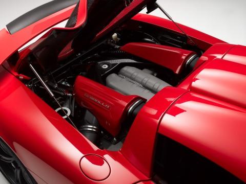 Caractéristiques techniques de Porsche Carrera GT