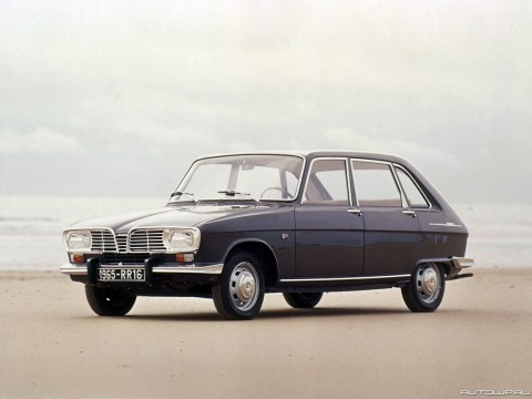 Technical specifications and characteristics for【Renault 16 (115)】