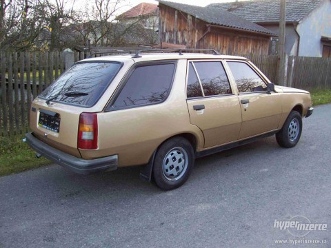 Technical specifications and characteristics for【Renault 18 Variable (135)】