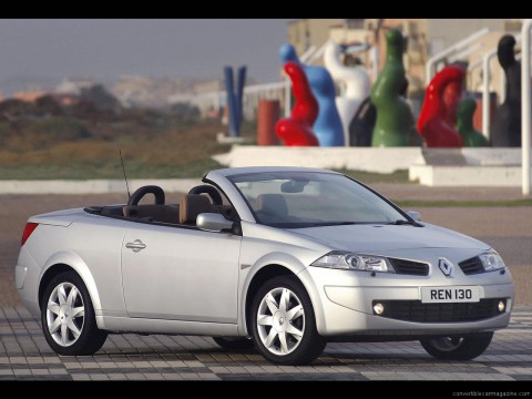 Technical specifications and characteristics for【Renault Megane CC II】
