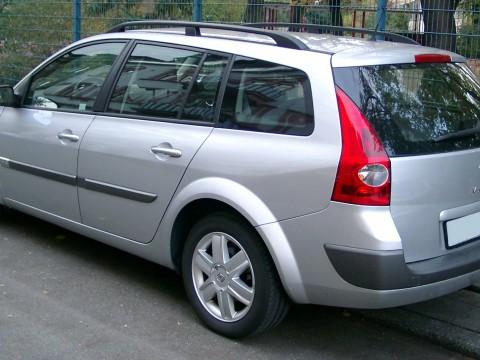 Caractéristiques techniques de Renault Megane Grandtour II