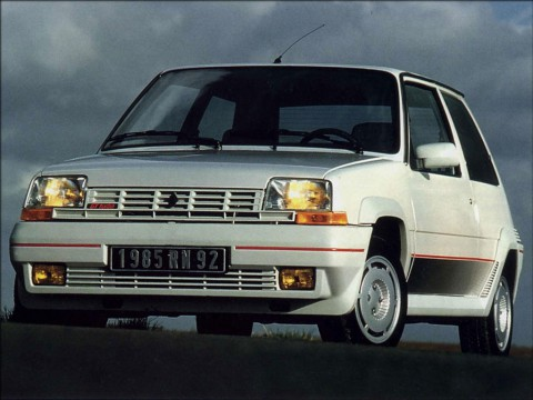 Technical specifications and characteristics for【Renault Super 5 (B/C40)】