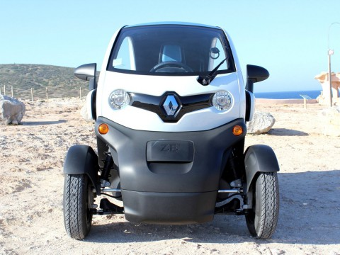 Technical specifications and characteristics for【Renault Twizy】
