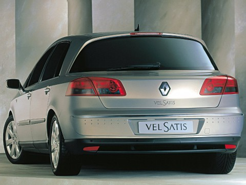 Technical specifications and characteristics for【Renault Vel Satis】