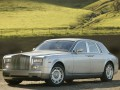 Technical specifications of the car and fuel economy of Rolls-Royce Phantom