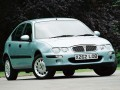 Technical specifications of the car and fuel economy of Rover 25