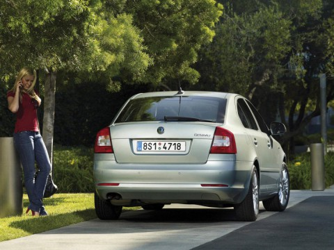 Technical specifications and characteristics for【Skoda Octavia II FL (1Z3)】