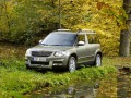 Technical specifications of the car and fuel economy of Skoda Yeti