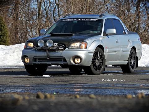 Технически характеристики за Subaru Baja