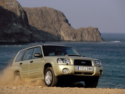 Technical specifications and characteristics for【Subaru Forester II】