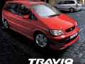 Technical specifications of the car and fuel economy of Subaru Traviq