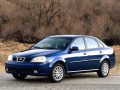 Technical specifications of the car and fuel economy of Suzuki Forenza