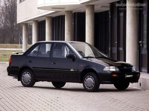 Especificaciones técnicas de Suzuki Swift II (AH,AJ)