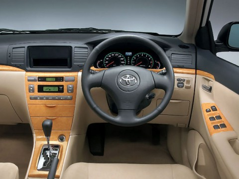 Technical specifications and characteristics for【Toyota Allex】