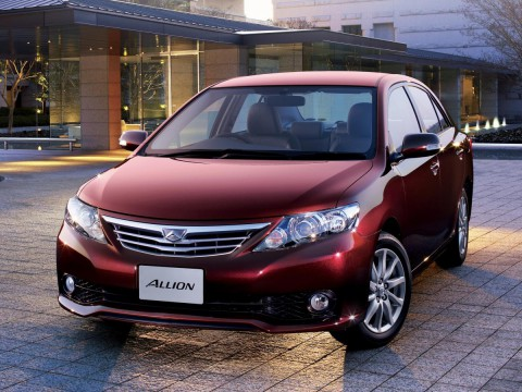 Technical specifications and characteristics for【Toyota Allion】