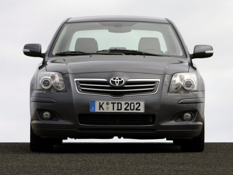 Technical specifications and characteristics for【Toyota Avensis II】