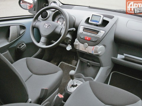 Technical specifications and characteristics for【Toyota Aygo】