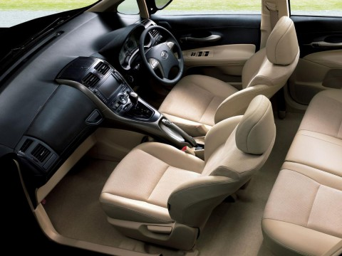 Technical specifications and characteristics for【Toyota Blade】