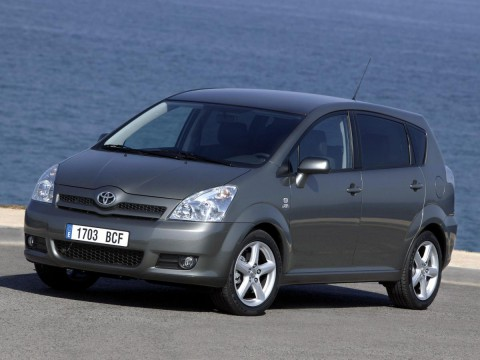 Technical specifications and characteristics for【Toyota Corolla Verso II】